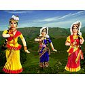 Photo Print of Mohini Attam Dancer Dolls