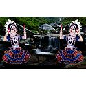 Photo Print of Odissi Dancers - Doll Artist - Madhuri Guin