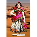Rajasthani Panihari Photo - Unframed Photo Print on Paper