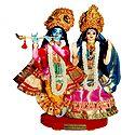 Photo Print of Radha Krishna - Doll Artist - Madhuri Guin