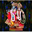 Photo Print of Radha Krishna - Doll Artist - Madhuri Guin
