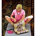 Rug Weaver Photo - Unframed Photo Print on Paper