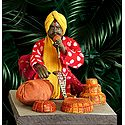 Snake Charmer Picture - Unframed Photo Print on Paper