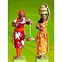 Snake Charmer Couple Photo - Unframed Photo Print on Paper