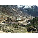 Thangu Tourist Bungalow, Way to Gurudongmar Lake - North Sikkim, India