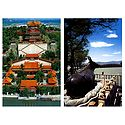 The Tower of Buddha Fragrance and Bonze Ox, China - Set of 2 Postcards