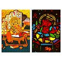 Lord Ganapati - Set of 2 Postcards