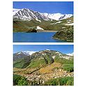 Manali and Suraj Tal, Lahaul - Set of Two Postcards