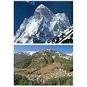 Shivling Peak and Manali - Set of 2 Postcards
