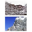 Rizong Monastery During Winter and Spituk Monastery, Ladakh - Set of Two Postcards