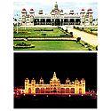 Mysore Palace - Set of 2 Postcards