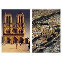 Cathrdrale Notre Dame, Paris - Set of 2 Postcards