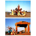 Odissi Dance, India - Set of 2 Postcards