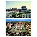 Gate Tower and Tian Anmen Square, China - Set of 2 Postcards