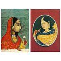 Rajput Princess - Set of 2 Postcards