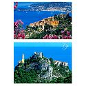 Eze Village, France- Set of 2 Postcards