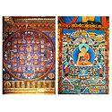 Vajraguhya Mandala and Lord Buddha - Set of 2 Postcards