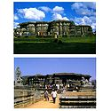 Hoysaleswara Temple, Karnataka - Set of 2 Postcards