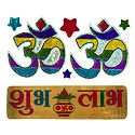 Shubh Labh and 2 Pairs of Om Sticker