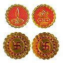 Kalash, Diya and Swastik - Auspicious Hindu Symbols