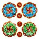 2 Pair of Sticker Swastika - Hindu Symbol