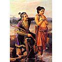 King Shantanu Falling in Love With Satyavati (Matsyagandha)