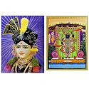Swaminarayan and Balaji - Set of 2 Posters