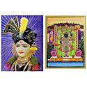 Swaminarayan and Balaji - Set of 2 Posters
