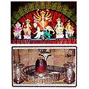 Mahakaleshwar and Devi Durga - Set of 2 Posters