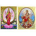 Lakshmi, Vaishno Devi - Set of 2 Posters