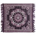 Reversible Dark Mauve Cotton Ritual Mat