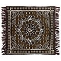 Reversible Brown Cotton Ritual Mat