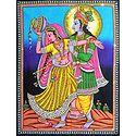 Radha Krishna in a Playful Mood