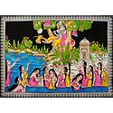 Vastra Haran by Krishna