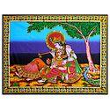 Secret Rendezvous of Radha and Krishna