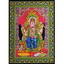 Ganesha as a King