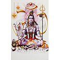 Meditating Shiva