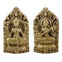 Lakshmi and Saraswati
