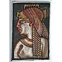 Egyptian Face in Terracotta
