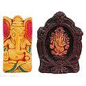 Set of 2 Ganesha