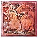 Galloping Horses - Wall Hanging