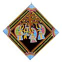 Krishna with Gopinis - Wall Hanging