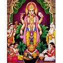 Satyanarayan - Glitter Poster