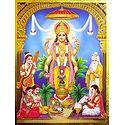 The Satyanarayan Puja