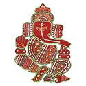 Decorative Lord Ganesha - Wall Hanging