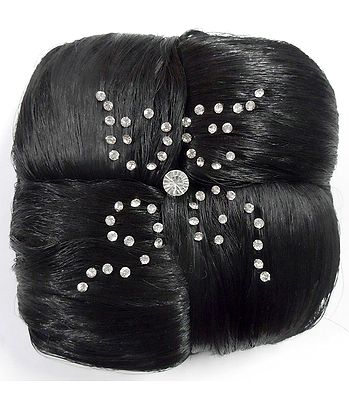 Hair Extension Buns and Plaits