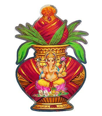 Stickers of Hindu Gods