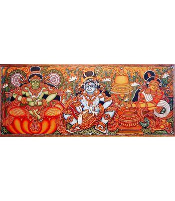 Reprints of Temple Murals