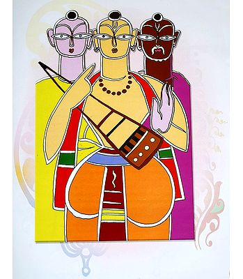 Reprints of Jamini Roy Paintings