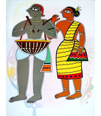 Reprints of Jamini Roy Paintings